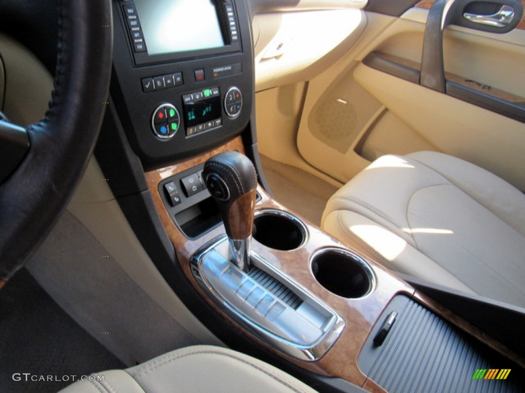 2011 Enclave CXL - Gold Mist Metallic / Cashmere/Cocoa photo #24