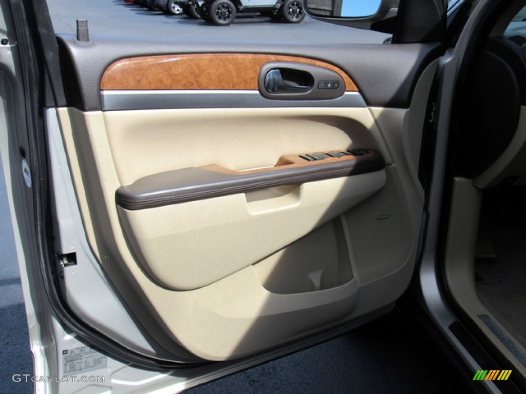2011 Enclave CXL - Gold Mist Metallic / Cashmere/Cocoa photo #26