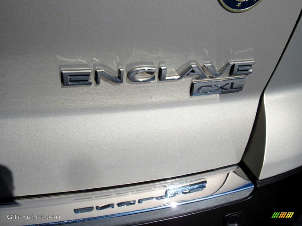 2011 Enclave CXL - Gold Mist Metallic / Cashmere/Cocoa photo #34