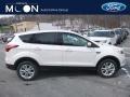 2019 White Platinum Ford Escape SE 4WD  photo #1