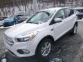 2019 White Platinum Ford Escape SE 4WD  photo #5