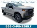 2019 Silver Ice Metallic Chevrolet Silverado 1500 Custom Z71 Trail Boss Double Cab 4WD  photo #1