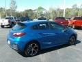 Kinetic Blue Metallic - Cruze LT Hatchback Photo No. 5