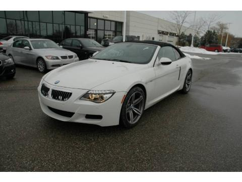 2009 Bmw M6 Interior. Alpine White BMW M6 in 2009