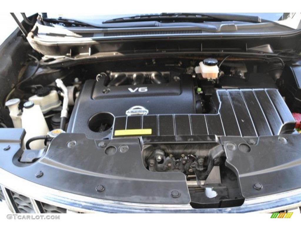 2011 Murano LE AWD - Super Black / Beige photo #29
