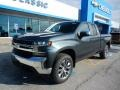 Shadow Gray Metallic 2019 Chevrolet Silverado 1500 LT Double Cab 4WD