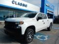 2019 Summit White Chevrolet Silverado 1500 Custom Z71 Trail Boss Crew Cab 4WD  photo #1