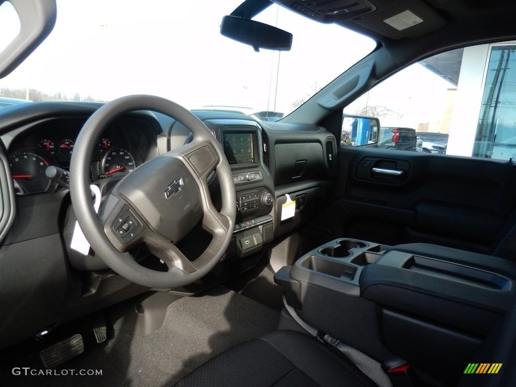 2019 Silverado 1500 Custom Z71 Trail Boss Crew Cab 4WD - Summit White / Jet Black photo #6