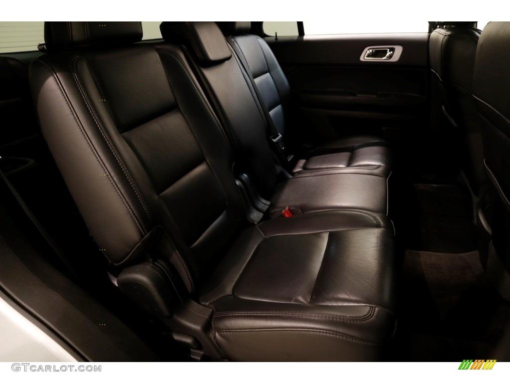 2013 Explorer XLT 4WD - Ingot Silver Metallic / Charcoal Black photo #18