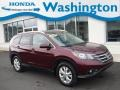 2013 Basque Red Pearl II Honda CR-V EX-L AWD #132342140