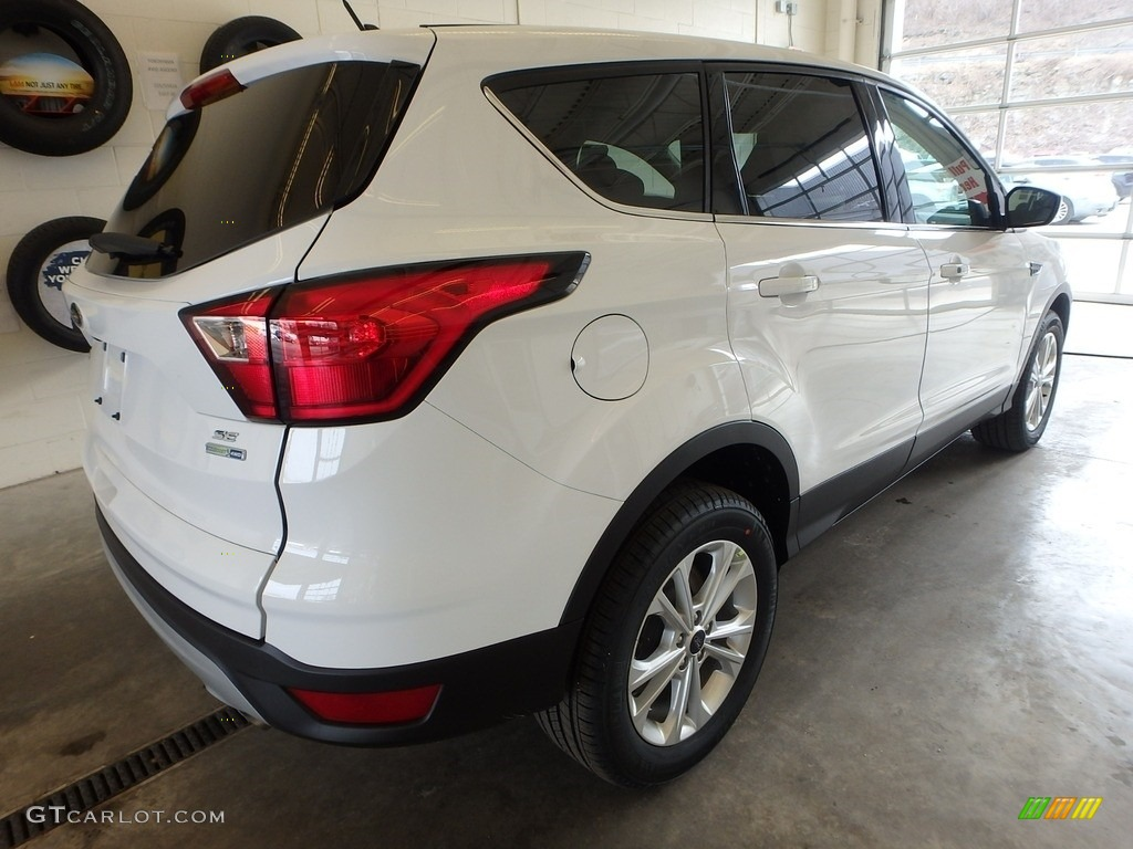 2019 Escape SE 4WD - Oxford White / Chromite Gray/Charcoal Black photo #2