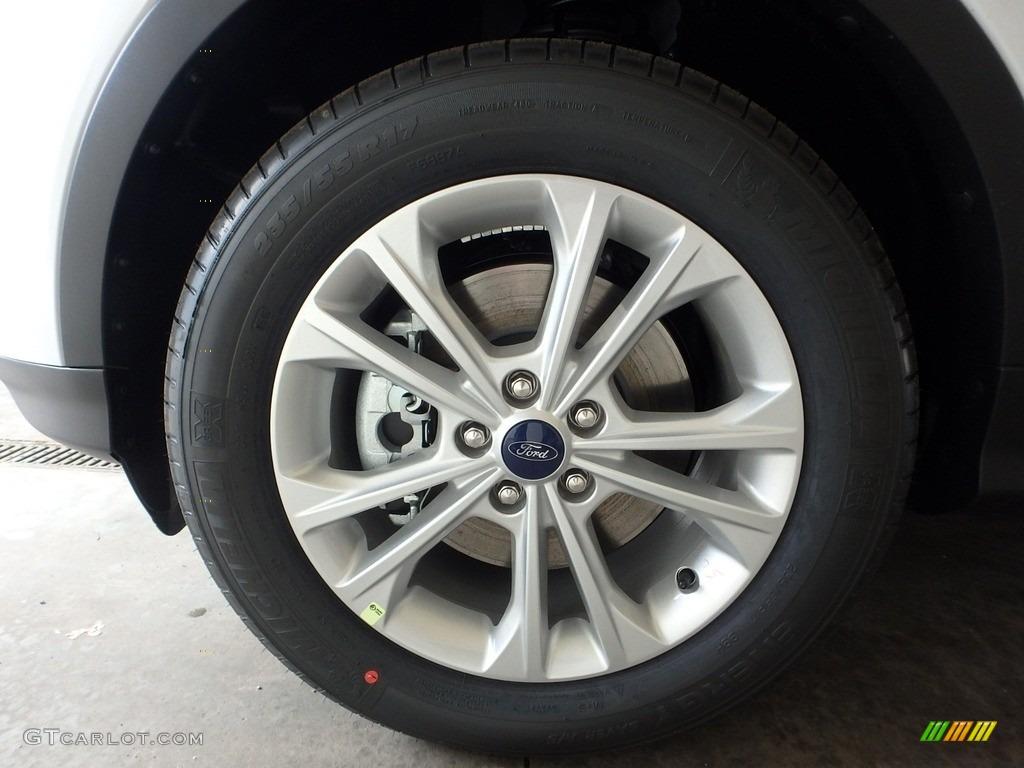 2019 Escape SE 4WD - Oxford White / Chromite Gray/Charcoal Black photo #6