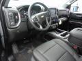 Jet Black Dashboard Photo for 2019 Chevrolet Silverado 1500 #132377158