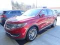 Ruby Red Metallic 2018 Lincoln MKX Reserve AWD