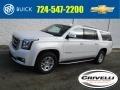 White Frost Tricoat 2018 GMC Yukon XL SLT 4WD