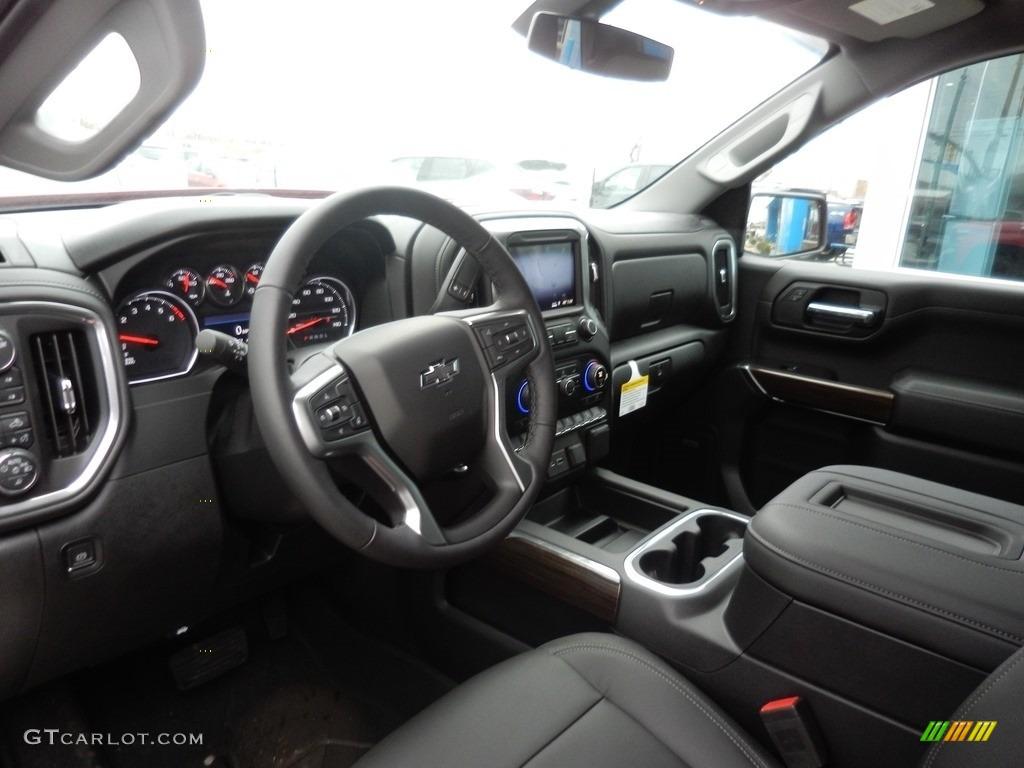 2019 Silverado 1500 LT Z71 Trail Boss Crew Cab 4WD - Red Hot / Jet Black photo #6