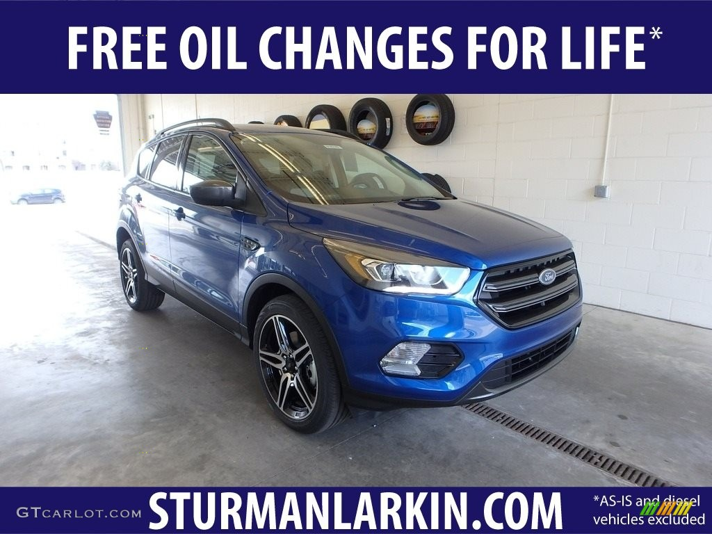 Lightning Blue Ford Escape