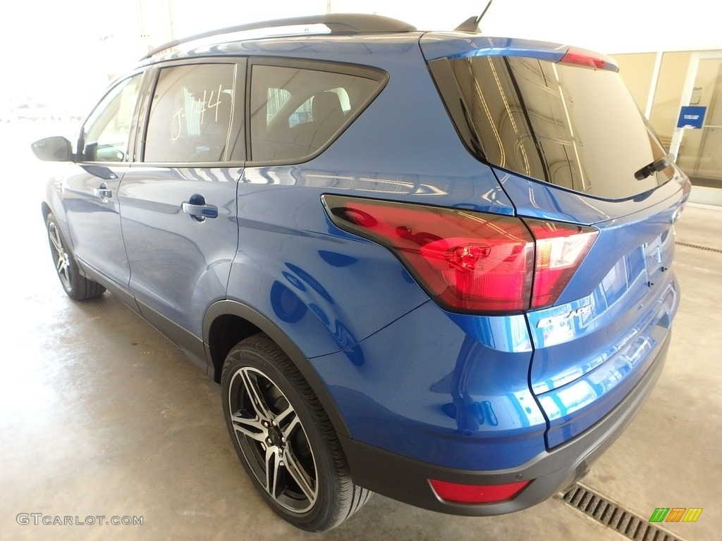 2019 Escape SEL 4WD - Lightning Blue / Chromite Gray/Charcoal Black photo #4