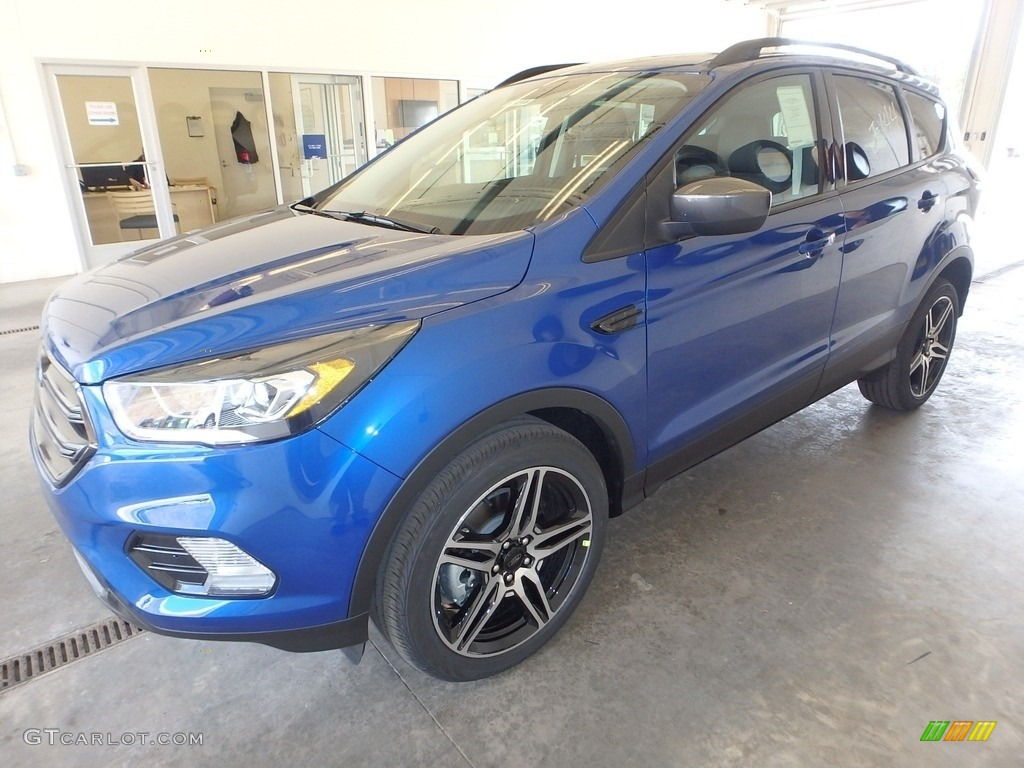 2019 Escape SEL 4WD - Lightning Blue / Chromite Gray/Charcoal Black photo #5