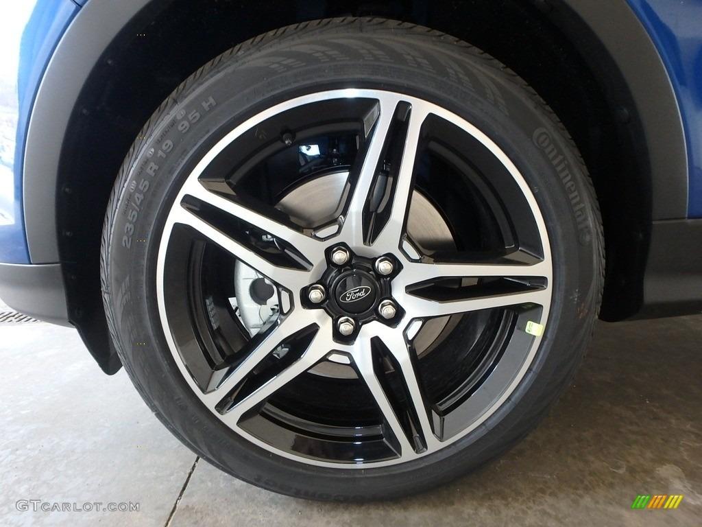 2019 Escape SEL 4WD - Lightning Blue / Chromite Gray/Charcoal Black photo #6
