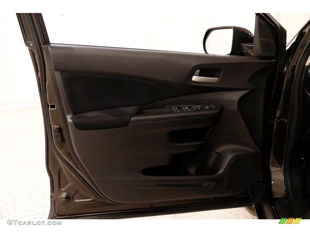 2014 CR-V EX AWD - Kona Coffee Metallic / Black photo #4