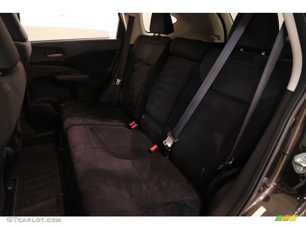 2014 CR-V EX AWD - Kona Coffee Metallic / Black photo #19