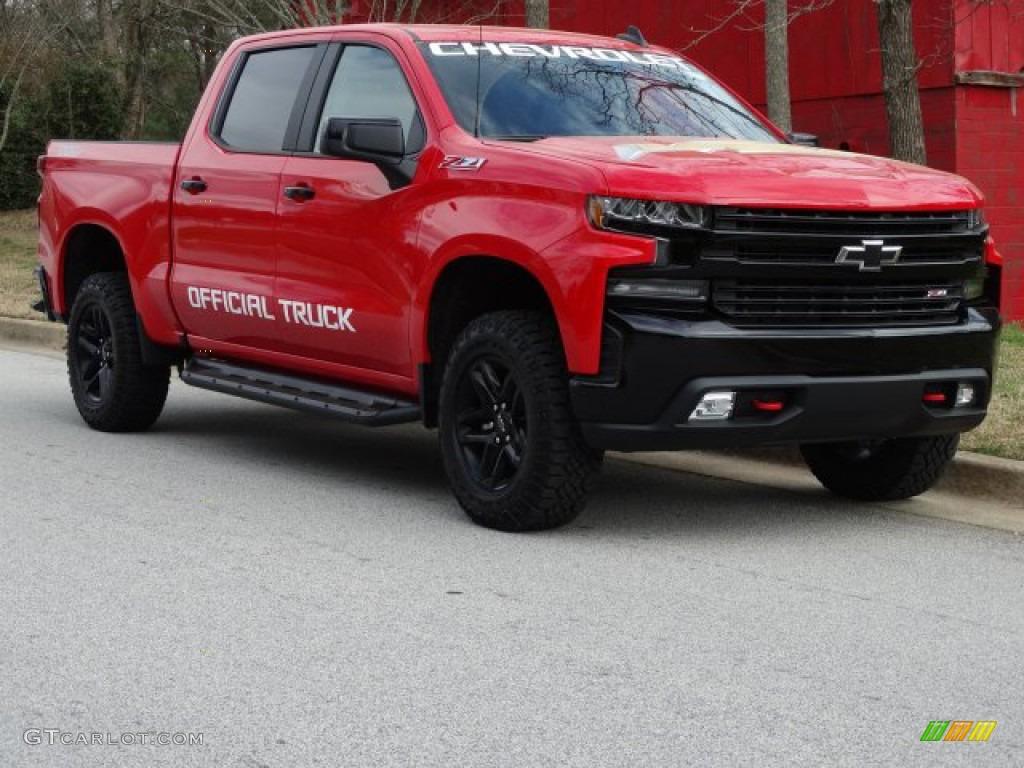 2019 Silverado 1500 LT Z71 Trail Boss Crew Cab 4WD - Red Hot / Jet Black photo #1