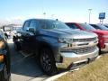 Satin Steel Metallic - Silverado 1500 LT Double Cab 4WD Photo No. 3