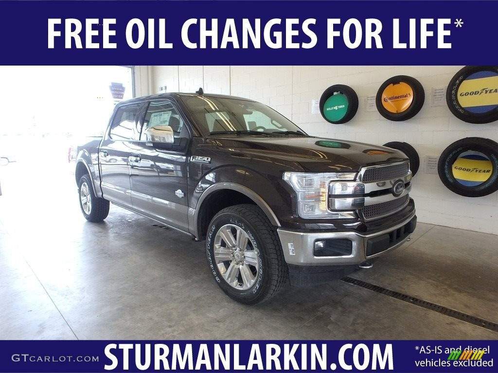 2019 F150 King Ranch SuperCrew 4x4 - Magma Red / King Ranch Kingsville/Java photo #1