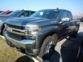 2019 Satin Steel Metallic Chevrolet Silverado 1500 LT Double Cab 4WD  photo #1