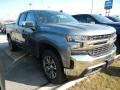 2019 Satin Steel Metallic Chevrolet Silverado 1500 LT Double Cab 4WD  photo #3