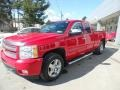 2013 Victory Red Chevrolet Silverado 1500 LTZ Extended Cab 4x4 #132419554