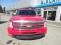 2013 Victory Red Chevrolet Silverado 1500 LTZ Extended Cab 4x4  photo #2