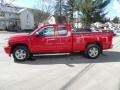 2013 Victory Red Chevrolet Silverado 1500 LTZ Extended Cab 4x4  photo #8