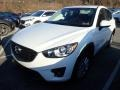 Crystal White Pearl Mica 2016 Mazda CX-5 Touring AWD