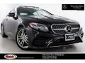 Black 2018 Mercedes-Benz E 400 Coupe