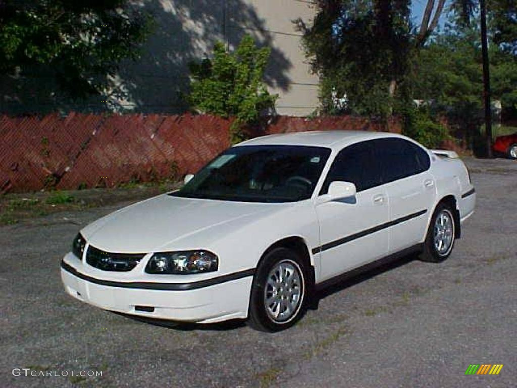 2002 white chevrolet impala 13242725 car color galleries. Cars Review. Best American Auto & Cars Review