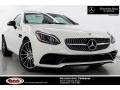 Polar White 2019 Mercedes-Benz SLC 300 Roadster