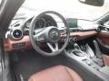 Front Seat of 2019 MX-5 Miata Grand Touring