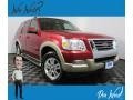 2007 Redfire Metallic Ford Explorer Eddie Bauer 4x4 #132475642