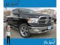 2012 Black Dodge Ram 1500 Big Horn Quad Cab 4x4 #132493386