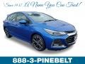 Kinetic Blue Metallic 2019 Chevrolet Cruze Premier Hatchback