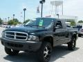 2004 Black Dodge Dakota SXT Club Cab 4x4  photo #1