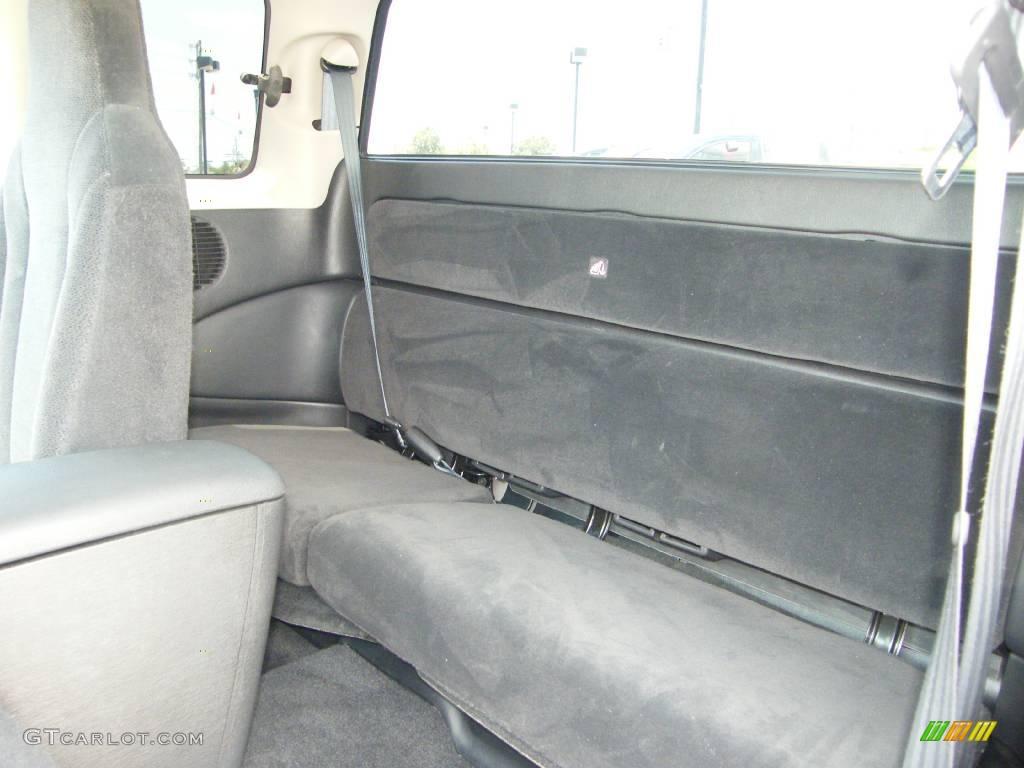 2004 Dakota SXT Club Cab 4x4 - Black / Dark Slate Gray photo #17