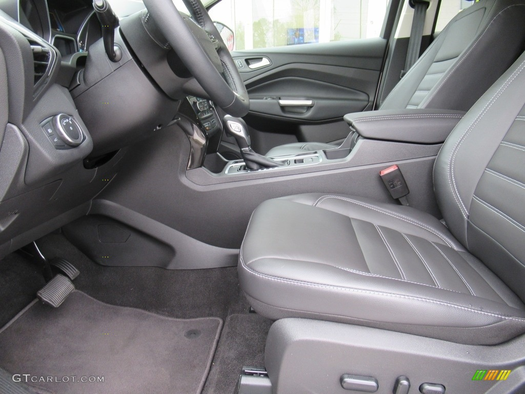 2018 Escape Titanium 4WD - White Platinum / Charcoal Black photo #9