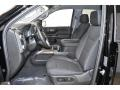 2019 Sierra 1500 Elevation Double Cab 4WD Jet Black Interior