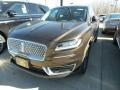 Ochre Brown 2019 Lincoln Nautilus Reserve AWD