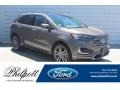 Stone Gray 2019 Ford Edge Titanium
