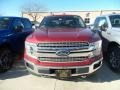 2019 Ruby Red Ford F150 Lariat SuperCrew 4x4  photo #2