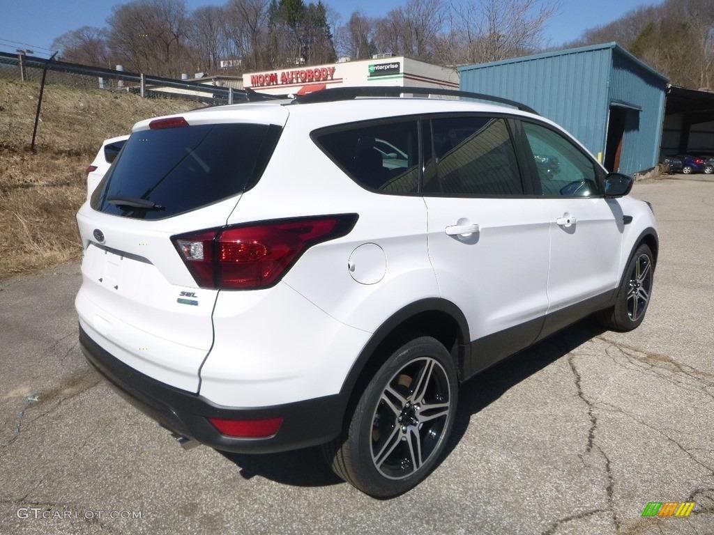 2019 Escape SEL 4WD - Oxford White / Chromite Gray/Charcoal Black photo #2